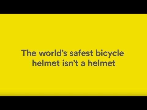 The world's safest bicycle helmet isn't a helmet