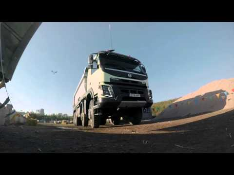 Volvo Trucks - Heavy crate crashes into truck