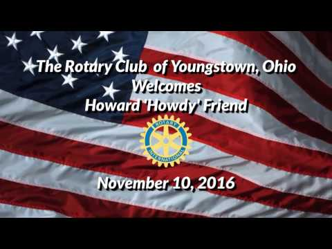 Howdy Friend Rotary Club Presentation