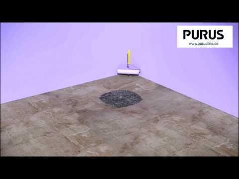 Installationsvideo för Purus Square i betongbjälklag