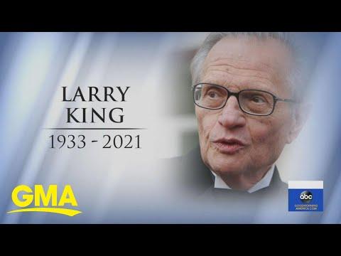 Larry King, talk show legend, dies at 87 | GMA
