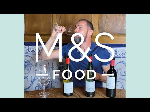 marksandspencer.com & Marks and Spencer Discount Code video: Classics wine tasting part deux with Fred Sirieix (and an unexpected reaction...) | M&S FOOD