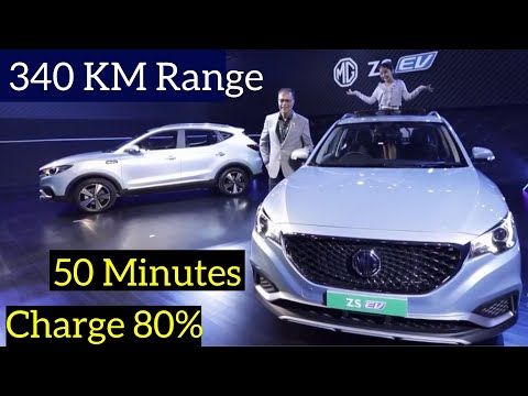 MG ZS EV Internet Electric Car in India - Specs Review