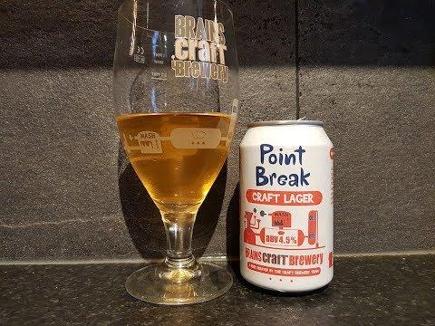 Brains Point Break Craft Lager By Brains Craft Brewery | British Craft Beer Review