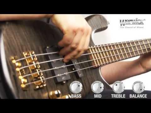 The Warwick Streamer Jazzman 4-string