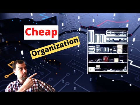 #91 Cheap Organization and Storage for your Ham Shack