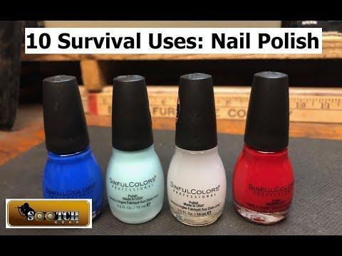 10 Survival Uses for Nail Polish