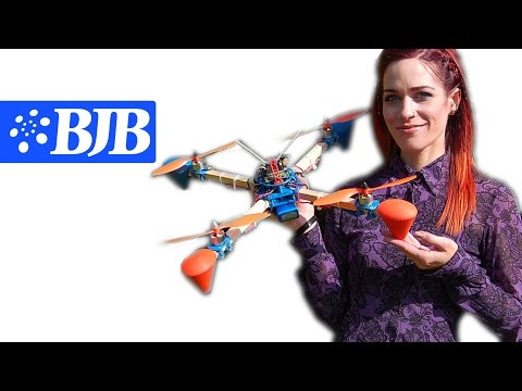 Prt 2: 3D Printed DIY Quadcopter-Build & Fly!!