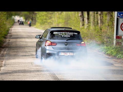Sportscars Accelerating - Prior Design AMG GT S, Capristo 458, Manhart M2, Huracan, TTE535 M135i