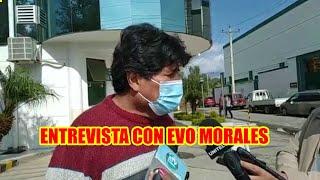 EVO MORALES VOLV3RA EL VIERNES A LA CLINIC4 DE LOS OLIVOS PARA CONTINUAR CON SUS TRAT4MIENTOS...