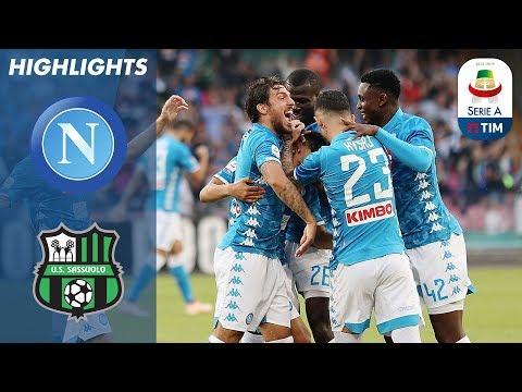 أهداف مباراة نابولي وساسولو 2-0 - البطولة الايطالية