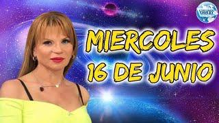 ATENCION TODOS? Horóscopo MIERCOLES 16 DE JUNIO   MHONI VIDENTE PREDICCION HOY