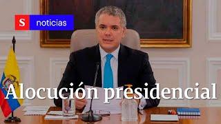 Presidente Iván Duque informa al país sobre la pandemia y la cuarentena | Semana Noticias mayo 22