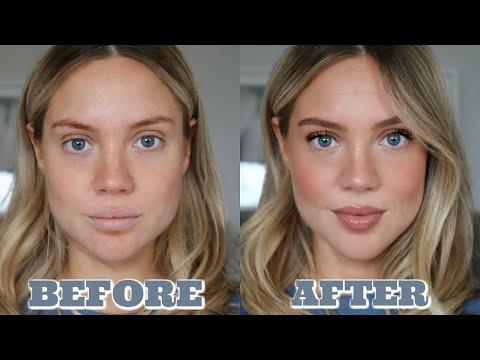 Lockdown Look | Minimal Makeup Tutorial | Elanna Pecherle 2020