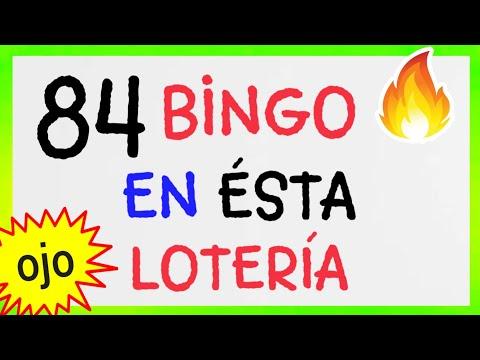 NÚMEROS GANADORES/ BINGO hoy (( 84 )) loteria NACIONAL/ SORTEOS de HOY / RESULTADO de las LOTERÍAS.