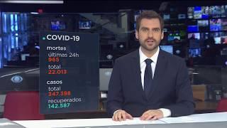Brasil registra mais de 22 mil mortes por coronavírus