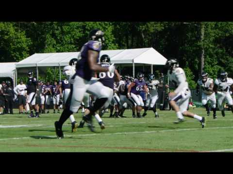 Eric Weddle Delivers Big Hit That Knocks Ball Away From Nick Boyle | Top Play | Baltimore Ravens