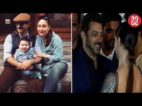 Saif's Swiss Holiday With Son Taimur | Salman's Embarrassing Moment With Sana Khan