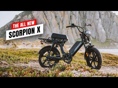The All New Juiced Bikes Scorpion X