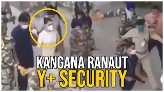 Kangana Ranaut with Y+ security At Mumbai | #KanganaRanaut | TFPC - TFPC