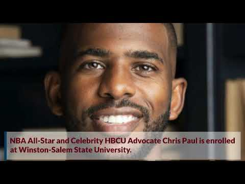 NBA All-Star Chris Paul Enrolled at Winston-Salem State