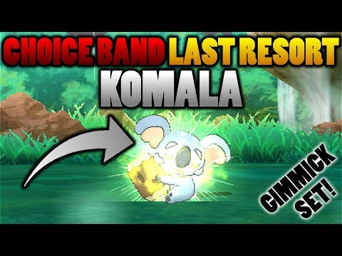 connectYoutube - Choice Band Last Resort Komala?! Comatose Moveset In Pokemon Ultra Sun and Moon