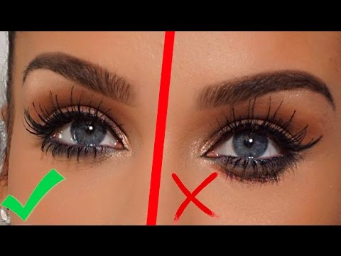 TOP SECRET BEAUTY HACK! Prevent Mascara from SMUDGING! | Carli Bybel