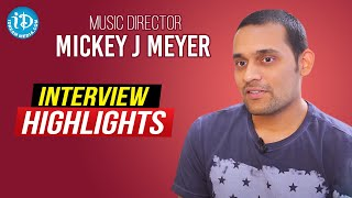 Music Director Mickey J Meyer Exclusive Interview Highlights | Melodies & Memories | iDream Movies - IDREAMMOVIES