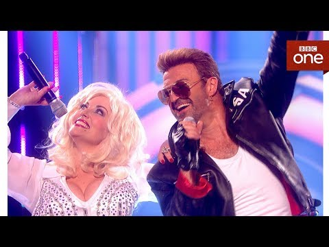 Rob Lamberti sings Faith by George Michael ft 'Dolly Parton' - Even Better Than the Real Thing
