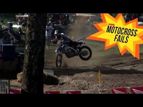 Motocross Fails: Crazy Kyle Peters Crash at Loretta Lynns - Motocross Action Magazine