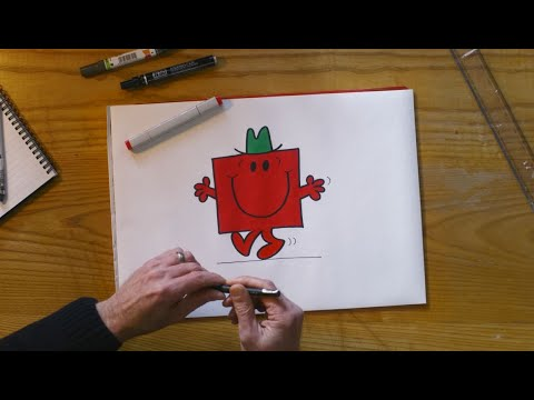 marksandspencer.com & Marks and Spencer Voucher Code video: M&S | How to draw Mr. Strong with Adam Hargreaves.