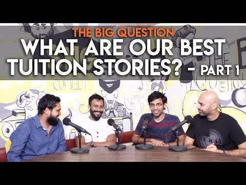 SnG: What Are Our Best Tuition Stories? feat. Biswa Kalyan Rath   The Big Question S2 Ep14 Part 1