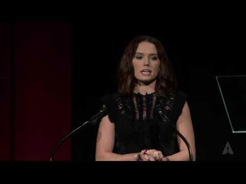 Daisy Ridley Presents Documentary Medalists: 2016 Student Academy Awards