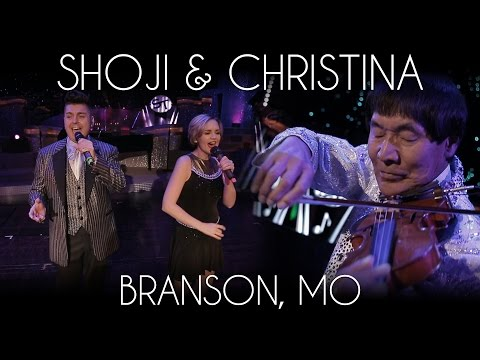 Shoji Tabuchi - How Great Thou Art + Christina Tabuchi | Lady Antebellum Just A Kiss (Cover)