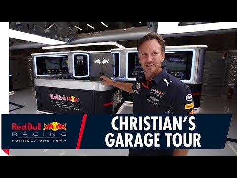 Christian Horner's Red Bull Racing Garage Tour