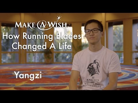 How Running Blades Changed a Life: Wish TBT