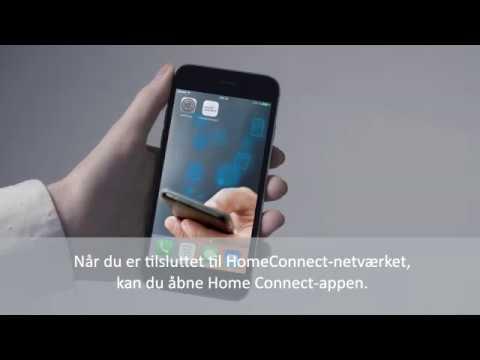 Home Connect tilslutning af Bosch køleskab med kamera