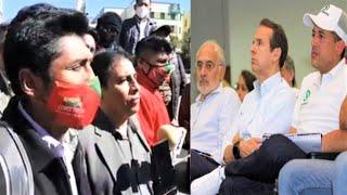 Pronunciamiento Comité Cívico Pro El Alto: Exige cárcel para golpistas Camacho, Mesa, Tuto - Bolivia