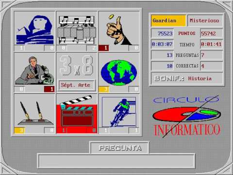 3x8 (Círculo A.S.M.) (MS-DOS) [1991]