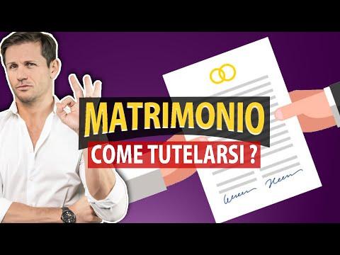 Come TUTELARSI prima del MATRIMONIO   Avv. Angelo Greco