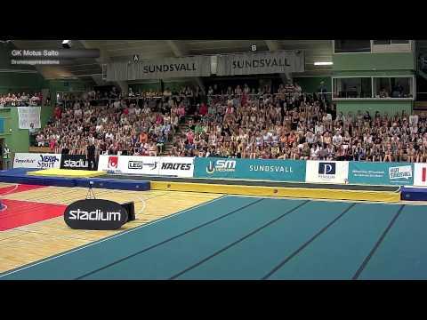Motus Saltos på tumbling - SM i Truppgymnastik 2015