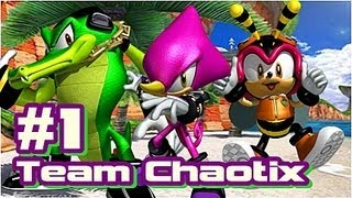 Let's Play Sonic Heroes - Team Chaotix - Part 1