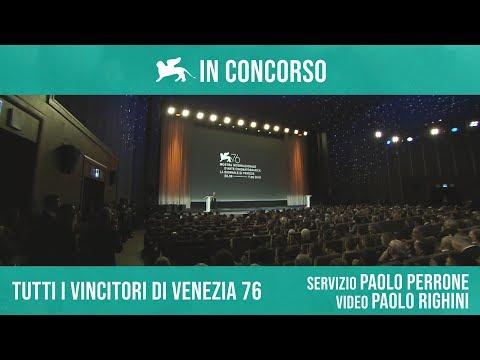 TUTTI I VINCITORI DI VENEZIA 76 di Paolo Perrone