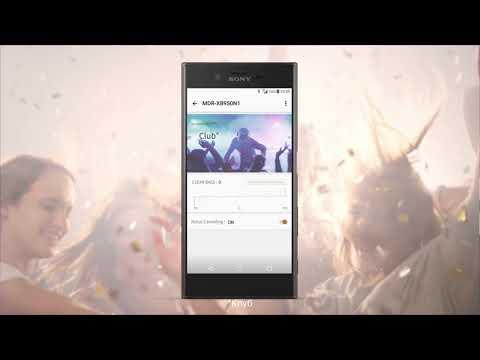 Приложение Sony | Headphones Connect – персональные настройки любимой музыки