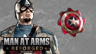 Captain America's Throwing Shields - MAN AT ARMS: REFORGED