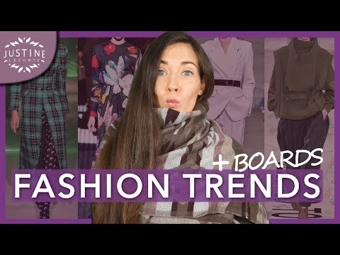 Video: FASHION TRENDS FALL-WINTER 2019-2020 & how to wear them ǀ Justine Leconte