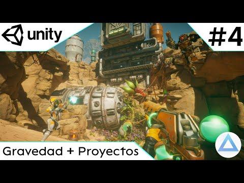 CREA un VIDEOJUEGO de DISPAROS en Unity Tutorial 2021🔫/Gravedad + Proyectos/4-Capitulo