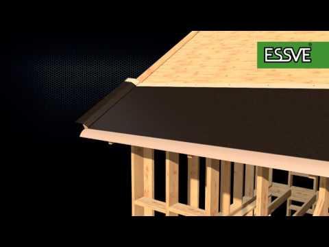 K-rauta - Takläggning av Essve del 2 - Takpapp