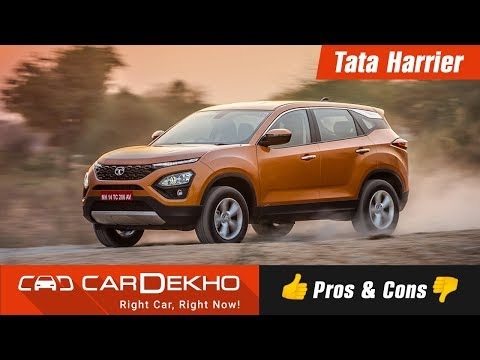Tata Harrier - Pros, Cons and Should You Buy One? Cardekho.com