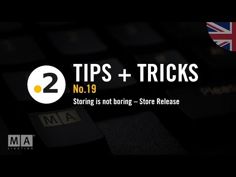 dot2 tips and tricks No19 storing is not boring store release